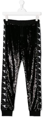 Diadora Junior TEEN sequinned track pants