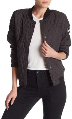 G Star RAW Quilted Bomber Jacket $320 thestylecure.com