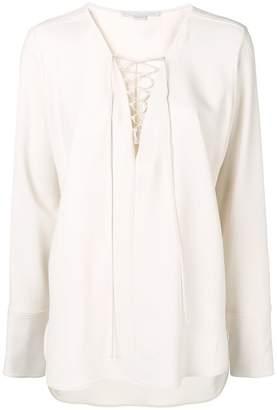 Stella McCartney lace detail loose blouse