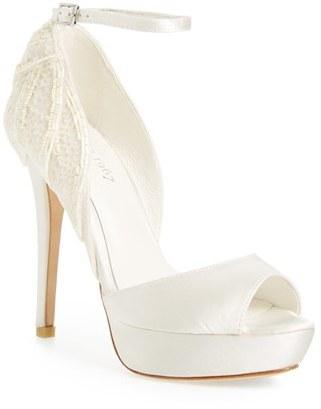 Women's Menbur 'Angelica' Peep Toe Platform Pump $239.95 thestylecure.com