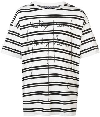 Mostly Heard Rarely Seen Hypeman contrast T-shirt