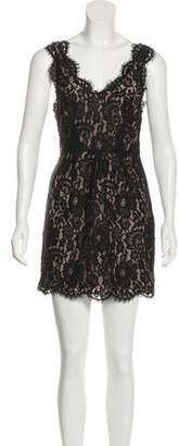 Joie Lace Mini Dress