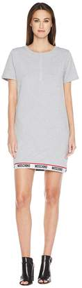 Moschino Basic Fleece Sweat Dress Women's Pajama