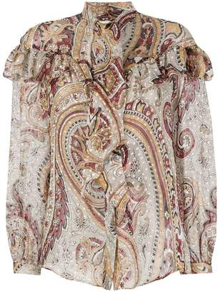 Etro paisley patterned blouse
