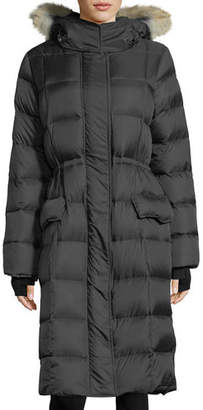 Canada Goose Lunenberg Hooded Parka Jacket with Fur Trim