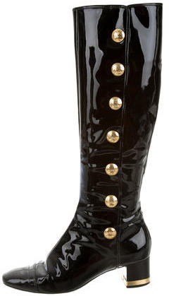 Tory BurchTory Burch Patent Leather Knee-High Boots