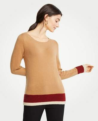 Ann Taylor Colorblock Sweater