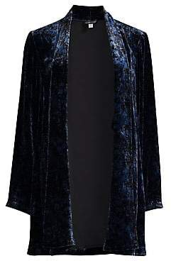 Eileen Fisher Women's Velvet Shawl Collar Jacket