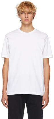 Sunspel White Organic Riviera T-Shirt