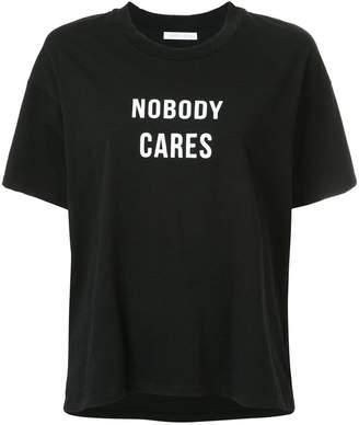 Nobody Denim Nobody Cares Tee Jet Black