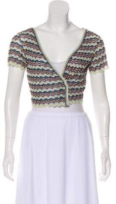 Missoni Knit Short Sleeve Shrug