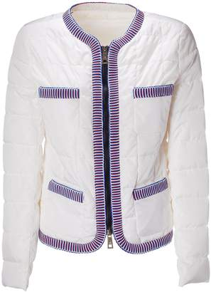 Fay Contrast Puffer Jacket