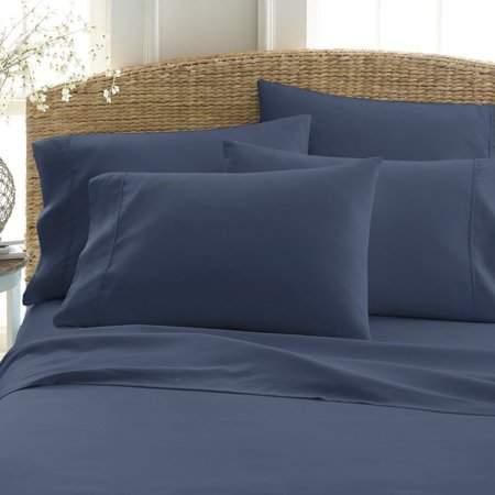Facetosun Fine Linens Extra Deep Pockets Quilt Cover Kit 6 Piece Bed Sheet Set Ergonomic Design Bedding Sheet Kit Home Textile