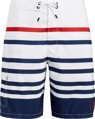Ralph Lauren Kailua Striped Swim Trunk