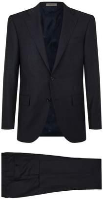 Corneliani Grid Check Two-Piece Suit