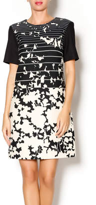 4.collective Short Sleeve Printed Dress