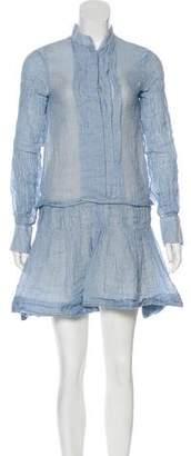 See by Chloe Pleated Mini Dress
