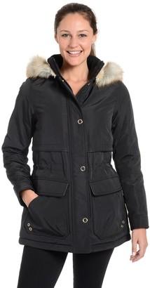 Fleet Street Women's Faille Anorak Jacket