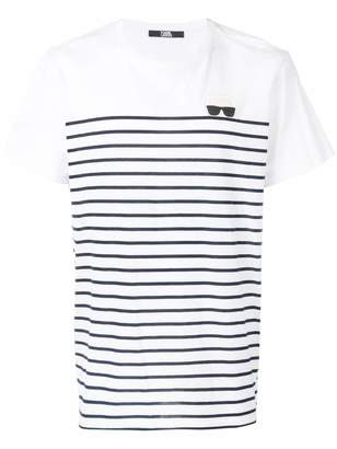 Karl Lagerfeld Ikonik striped sweater
