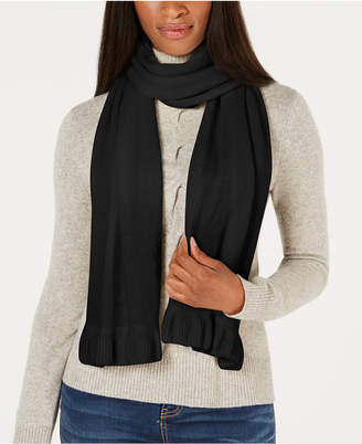 Charter Club Ruffled Cashmere Scarf