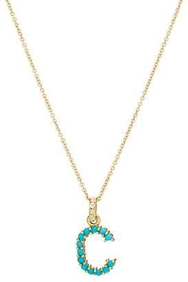 "Jennifer Meyer Women's ""C"" Pendant Necklace"