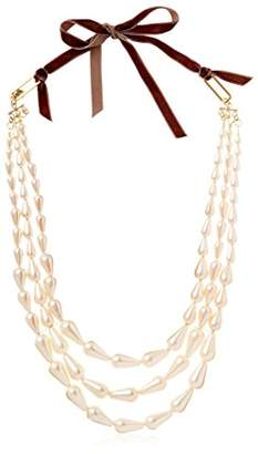 David Aubrey Hadrien Triple-Strand Necklace