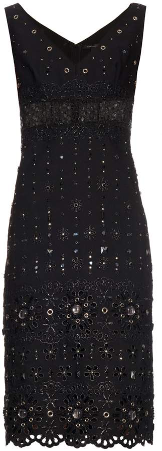 Marc JacobsMARC JACOBS Broderie-anglaise embellished dress