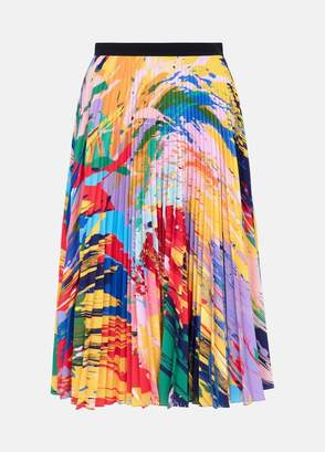 Mary Katrantzou Uni Skirt Paint Splash