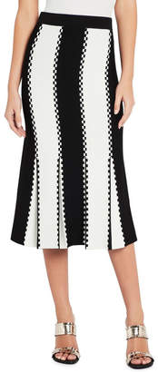 Sass & Bide Letter From Paris Knit Skirt