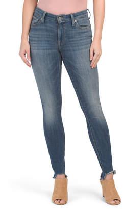 Ava Mid Rise Slim Skinny Jeans