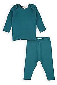 Bonpoint Infants' Cotton Jersey T-Shirt & Leggings Set-Green