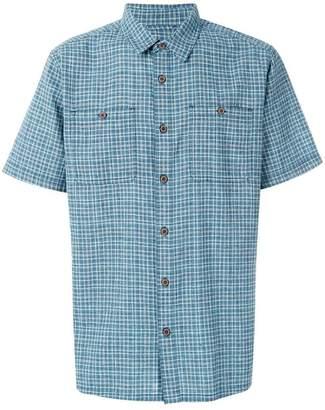 Patagonia plaid boxy shirt