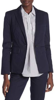 Joie Anilah Front Button Notch Collar Blazer