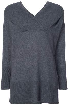 ADAM by Adam Lippes off shoulder brushed sweater