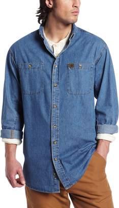 e3f07169 Wrangler Riggs Workwear Men's Big and Tall Denim Work Shirt