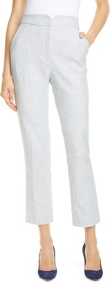 Rebecca Taylor Tailored by Slub Suit Pants