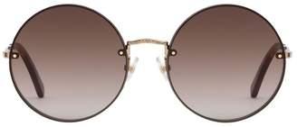 Rebecca Minkoff Gloria Round Sunglasses
