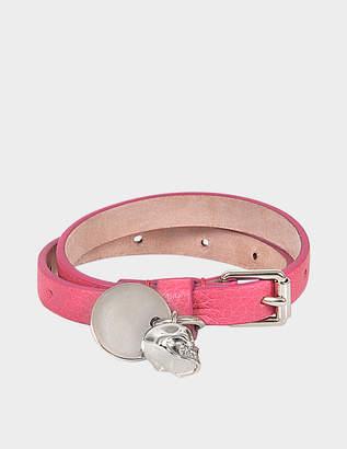 Alexander McQueen Skull Charm Double bracelet