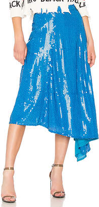 MSGM Sequin Skirt