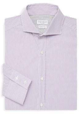 Brunello Cucinelli Striped Dress Shirt