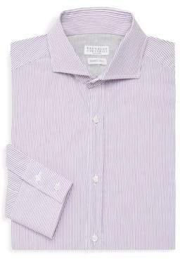 Brunello Cucinelli Striped Dress Shirt