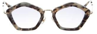 Miu Miu Marbled Noir Sunglasses