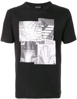 Emporio Armani photo-print T-shirt