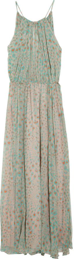 By Malene Birger Abondance printed silk-chiffon maxi dress