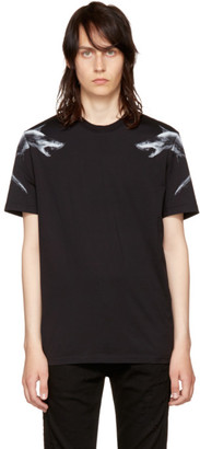 Givenchy Black Sharks 74 T-Shirt $440 thestylecure.com