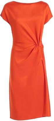 Lanvin Asymmetrical Twist Dress
