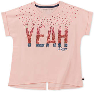 Tommy Hilfiger Big Girls Cotton Star-Print T-Shirt