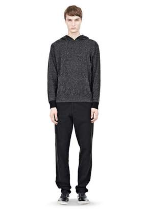 Alexander Wang (アレキサンダー ワン) - T By Alexander Wang Knitted Hoodie With Contrast Cuff