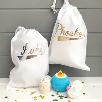 Pink Pineapple Home & Gifts Personalised Bath Bombs Gift Bag