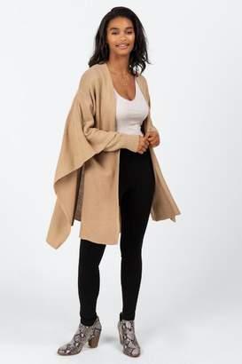 francesca's Lisa Knit Cardigan Kimono - Black